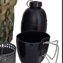 "Bushcraft cucina ""Drago"" Crusader MKII-6 pezzi - Camo"