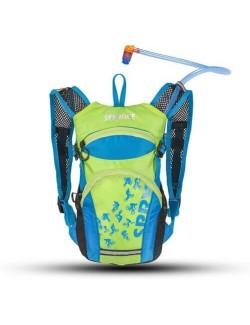 Source hydration pack voor kinderen Spry 1.5 liter - Blauw - Groen