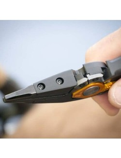 """Gerber pliers for fishing Magniplier 7.5"""" - Black with Orange"""