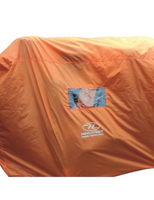 Highlander noodtent Emergency Survival Shelter 4-5 persoons - Oranje