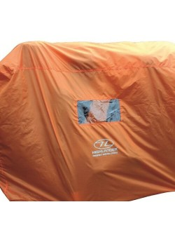 Abri de survie d'urgence Highlander 4-5 personnes-Orange