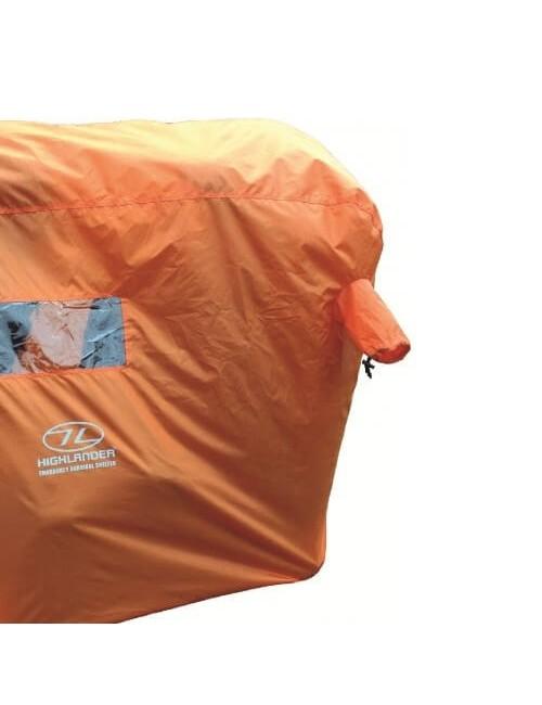 Highlander emergency Survival Shelter 4-5 Personen-Orange