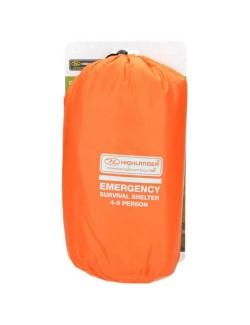 Refugio de supervivencia de emergencia Highlander 4-5 personas-Naranja