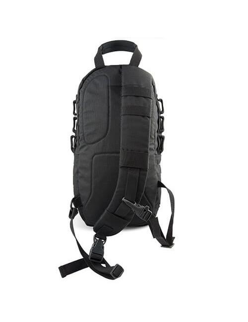 Highlander Cobra Einzigen Gurt Rucksack 15L - Black
