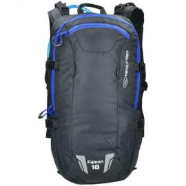Highlander Falcon Hydration Pack de 18 litres - Noir/Bleu
