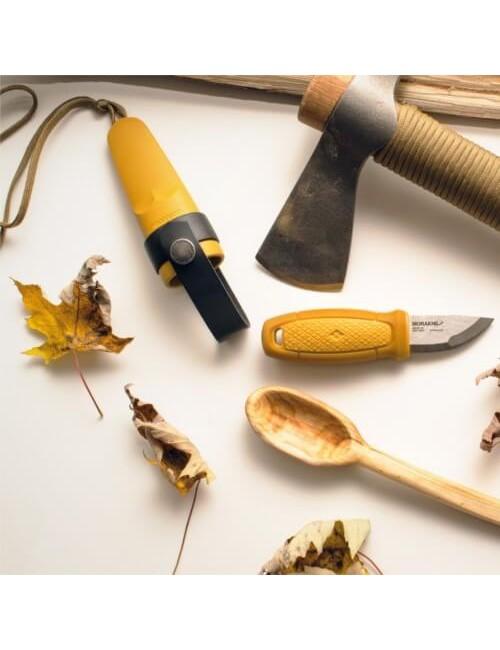 Mora Eldris Neck Knife Yellow