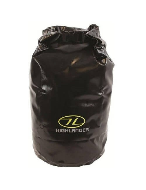 Highlander Tri Laminate PVC Dry Bag (16 liter) - Black