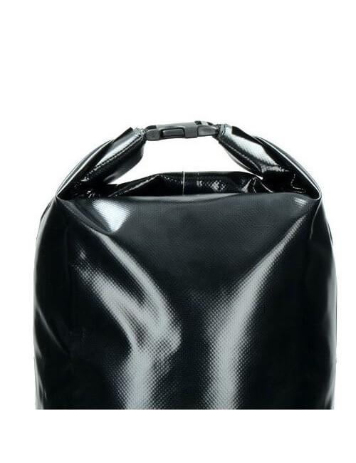 Highlander Tri Laminado de PVC Bolsa Seca (16 litros) - Negro