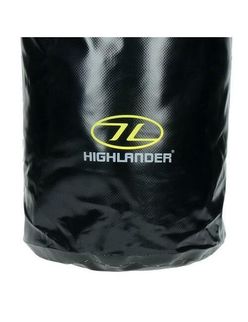Highlander Tri PVC Laminato Lavaggio Borsa (16 litri) - Nero