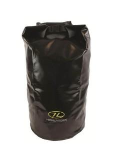 Highlander Tri-Laminat PVC Dry Bag (44 Liter) - Schwarz