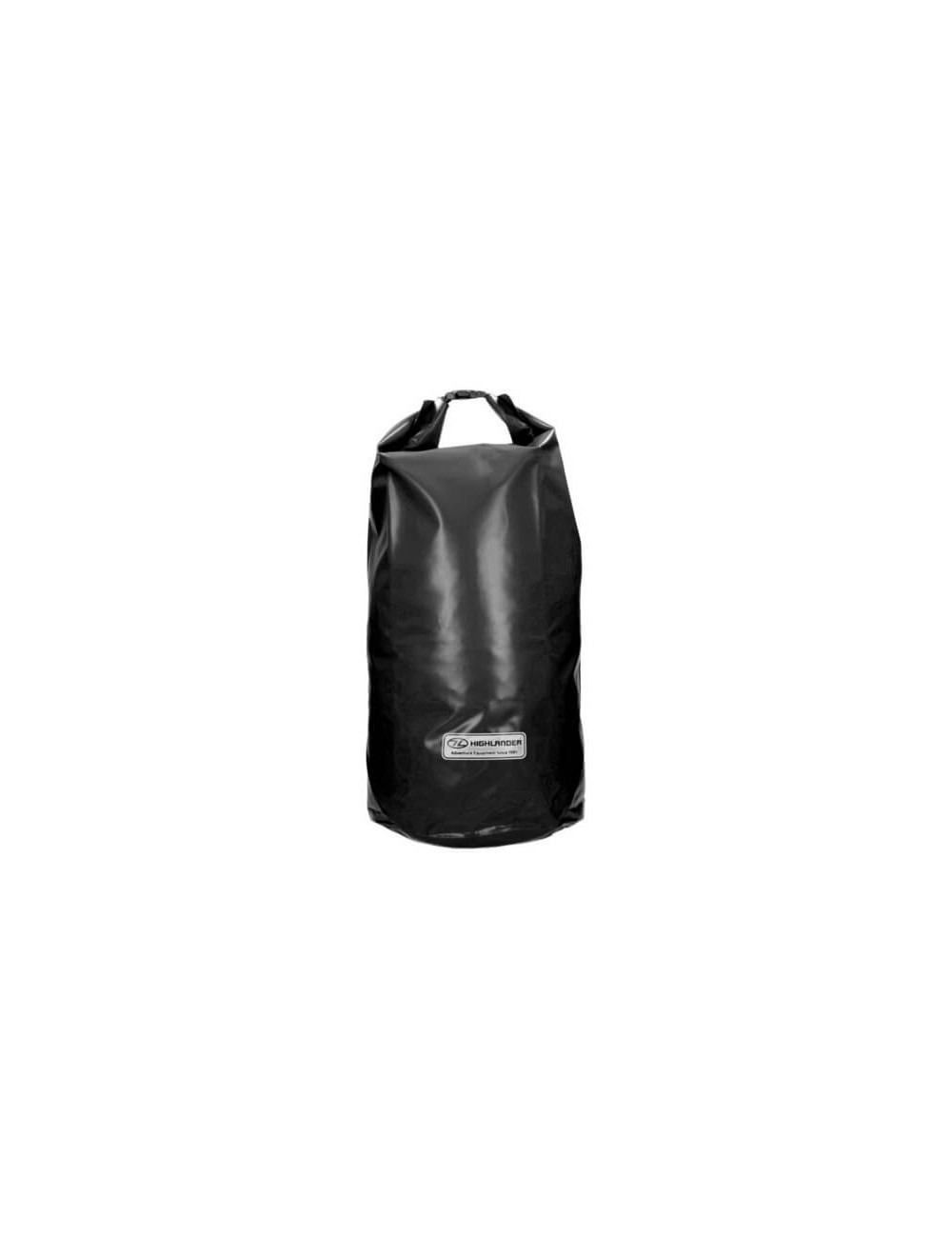 Highlander Tri Laminado de PVC Bolsa Seca (44 litros) - Negro