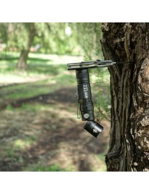 NiteCore Taschenlampe MT21C Cree XP-L HD V6 LED mit dem kippen von Kopf - Schwarz