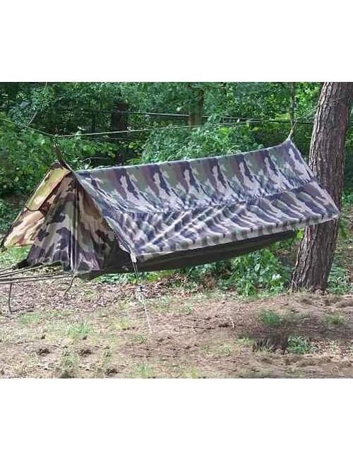 101 Inc hangmat Jungle met dakzeil camouflage Frans Woodland