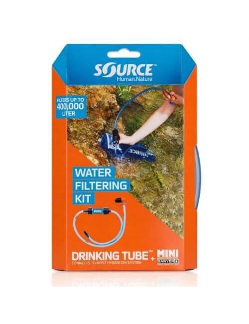 Source De Filtrage De L'Eau Kit De Tube Potable + Mini Sawyer