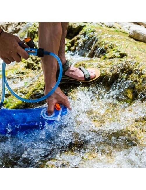 Source waterfilter kit Drinking Tube + Mini Sawyer voor op SQC