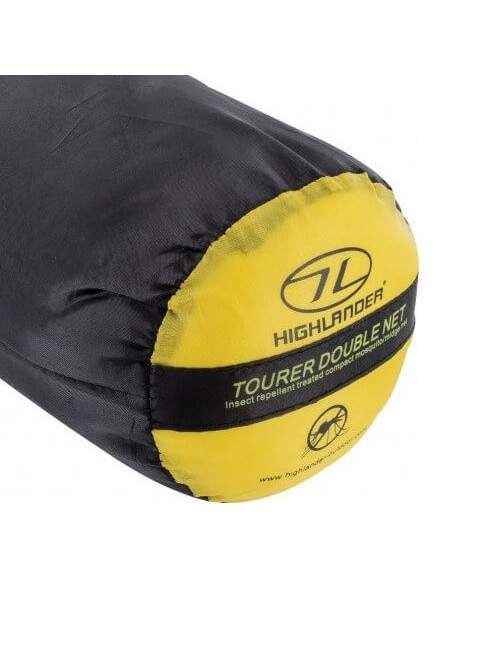 Highlander muskietennet Tourer Mosquito Net Double 2-persoons - Wit