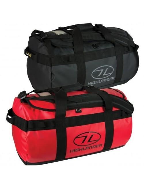 Highlander Lomond Teloni Duffle Bag 65 - Nero
