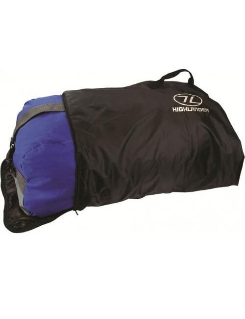 Highlander transporthoes Transitcover maximaal 100 liter voor backpack