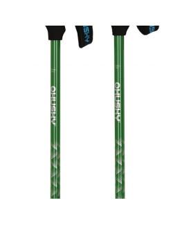 Husky wandelstokken (set) Trekking Steeple 67-135 cm - Groen