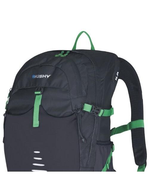Husky rucksack, Trekking, Cycling, Backpacking Skid - 30 litres - Black