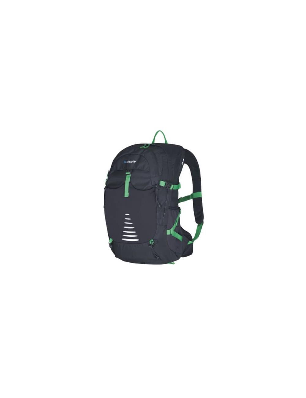 Husky rucksack, Trekking, Radfahren, Backpacking Skid - 30 Liter - Schwarz