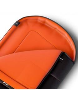 Husky sacco a pelo Trapuntato Gizmo - Grigio/Arancione