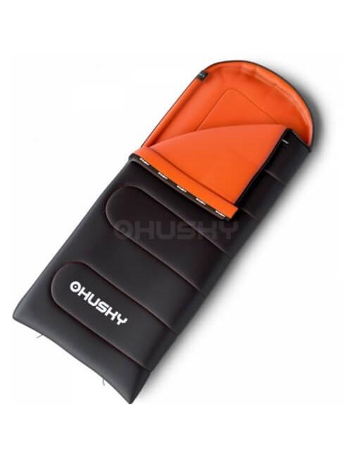 Husky sleeping bag Quilted Gizmo - Grey/Orange