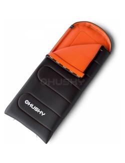 Husky sac de couchage Matelassé Gizmo - Gris/Orange
