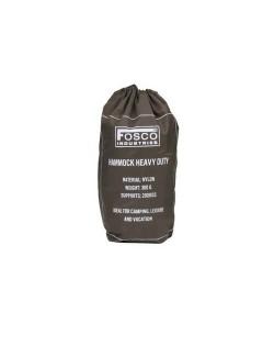 Fosco Industries Mini Hangmat Heavy Duty met opbergzakje - Leger Groen