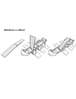 Mora survivalmes Kansbol Multi Mount - compatibel met MOLLE - Groen