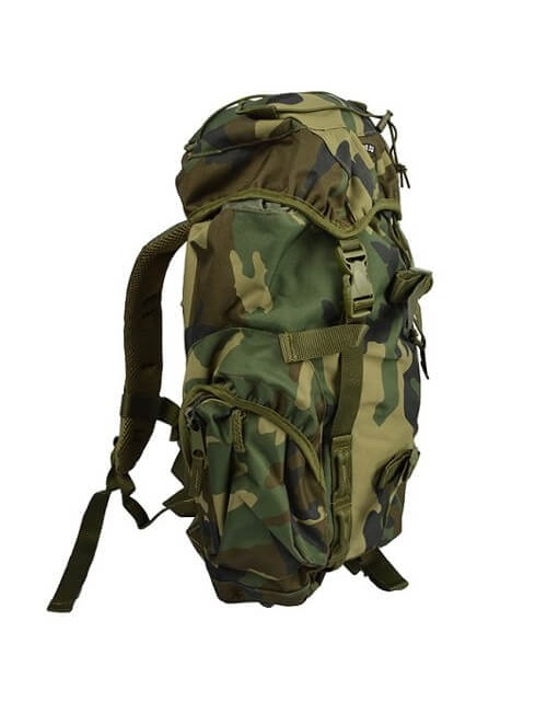 Fostex rugzak Recon Woodland 25 liter - camouflage Groen
