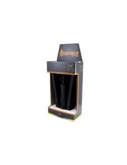 Gerber pioneersschop Folding Spade Serrated opvouwbare schep - Zwart