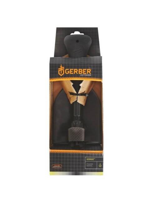 Gerber schep Gorge Folding Shovel opvouwbaar - Zwart - Grijs