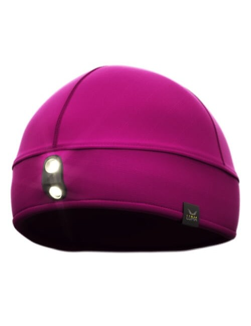Luma Active LED combinatieset - 122 lumens, headband and hat - Purple