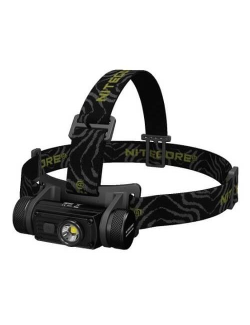 NiteCore Stirnlampe HC60NW 1000 Lumen CREE XM-L2 U2 LED - Schwarz