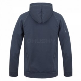 Husky sweatshirt Ana M für Männer mit Kapuze und Reißverschluss - Anthrazit