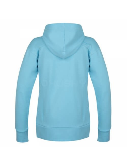 Husky sweatshirt Anah L for ladies with hood and zipper - Light Blue