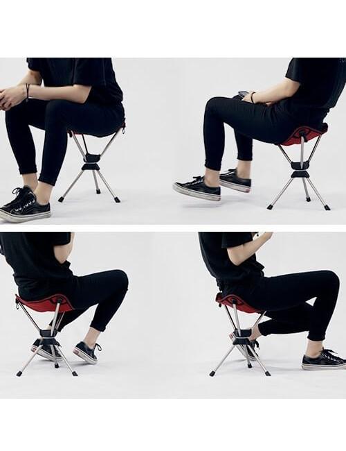 Talon campingstoel Swivel Pivot-Mini - swivel - Ultra-Licht - Schwarz