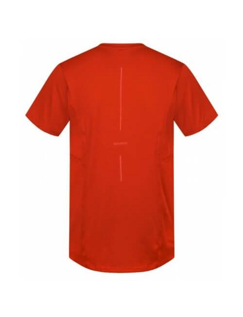 Husky t-shirt Telly M men's functional Cooldry - Dark Red