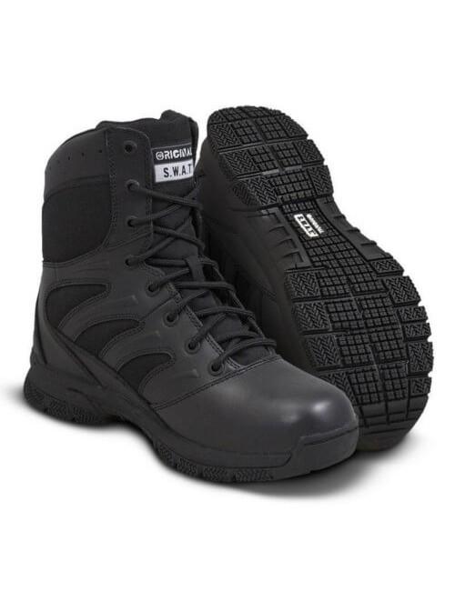 "Original S. W. A. T. arbeiten Schuhe Force 8"" Professional - Schwarz"