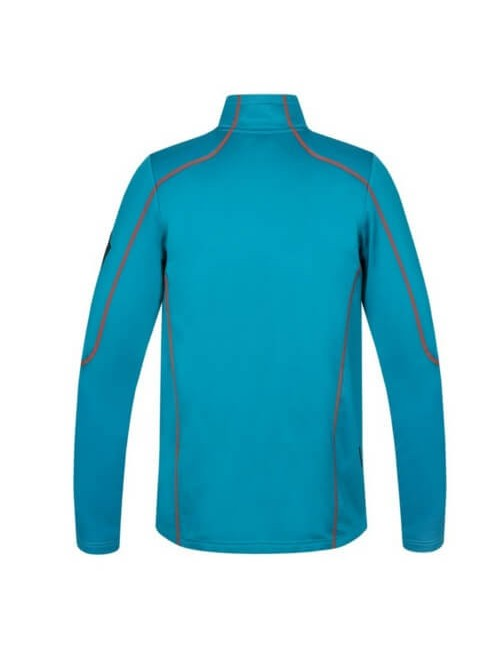 Hannah men's sweater vest Tiller PS Full-Zip - Stretch - Blue - Orange