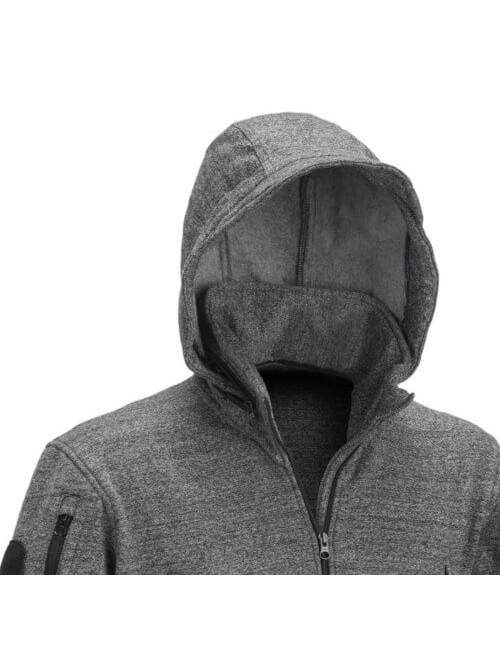 Defcon 5 men's hoodie vest jacket Tactical hooded jacket - Black