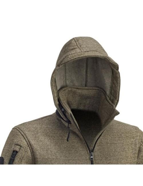 Defcon 5 heren sweater vest jack Tactical met capuchon - Groen