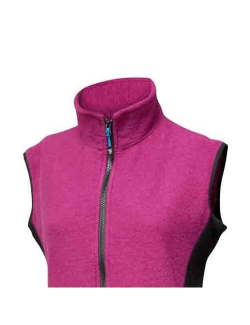 They ladies jacket Was Cerise boiled wool with Lycra fabric - athletic - Pink -