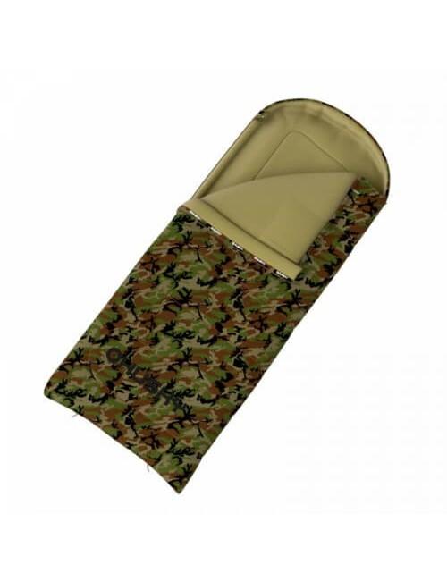 Le Husky sac de couchage Matelassé Gizmo Photo à Partir de -5°C à 220 x 90 cm) - Vert d'Armée