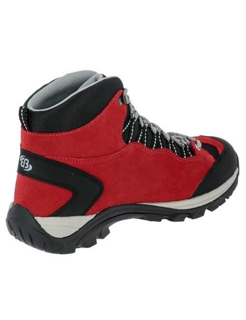 Brütting Schuhe für Frauen, Mount Bona High - Weiß - Schwarz -