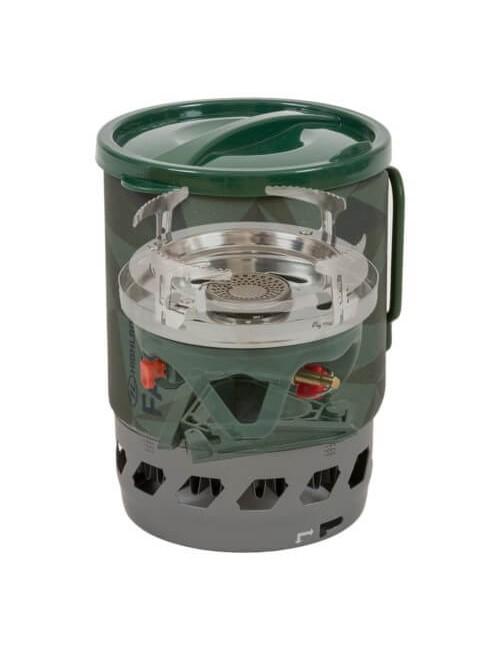 Highlander de presión de gas Fastboil III, Fuerzas, 1.1 L, Verde