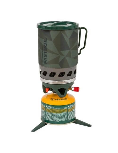Highlander pressione del gas Fastboil III, Forze, 1.1 L, Verde