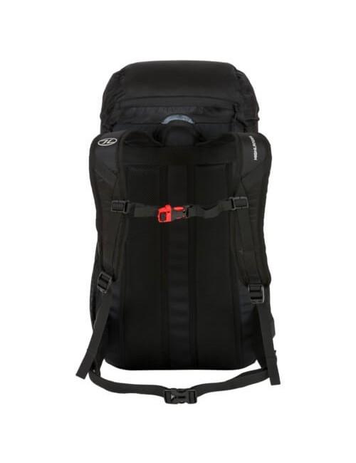Highlander rucksack Trail, a 40-liter daypack - Black is Black