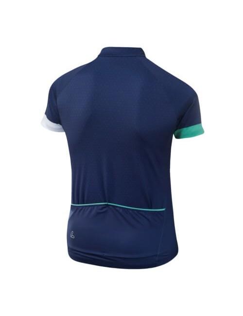 Loeffler wielrenshirt korte mouwen W Bike Jersey HZ Rise dames - Blauw